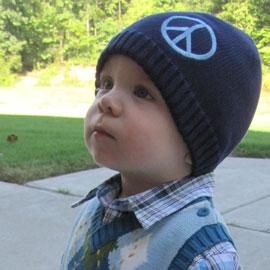 Peace Beanie Hat