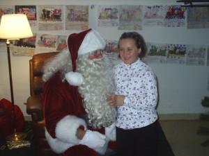 Cait & Santa