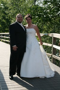 Wedding Pic... on the bridge