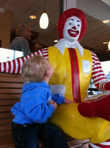 Meeting Ronald McDonald