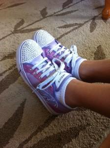Sparkly Heelys