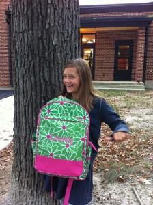 Lauren & her bag
