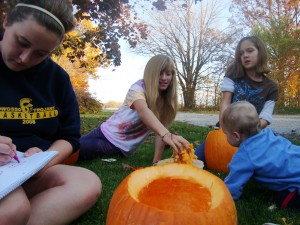 pumpking carving