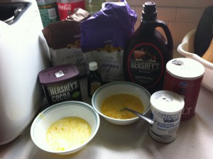 bread machine cake ingredients