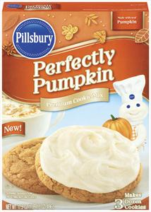 Pillsbury pumpkin cookie mix