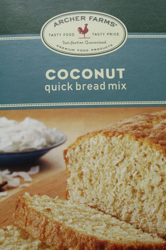 Target coconut quick bread