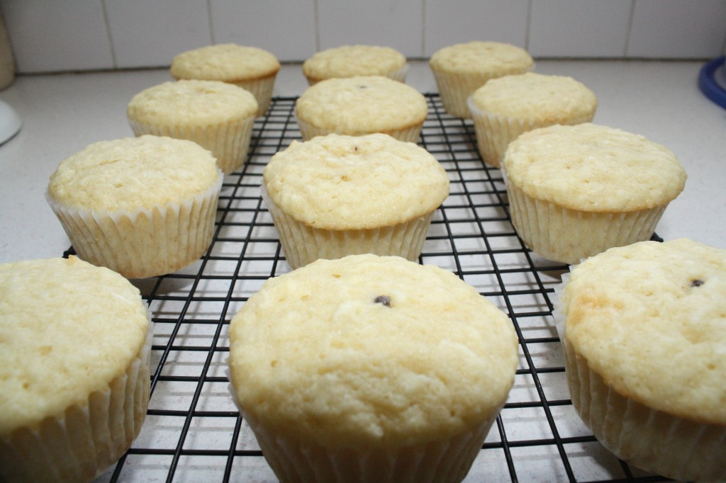 Cooling cupcakes