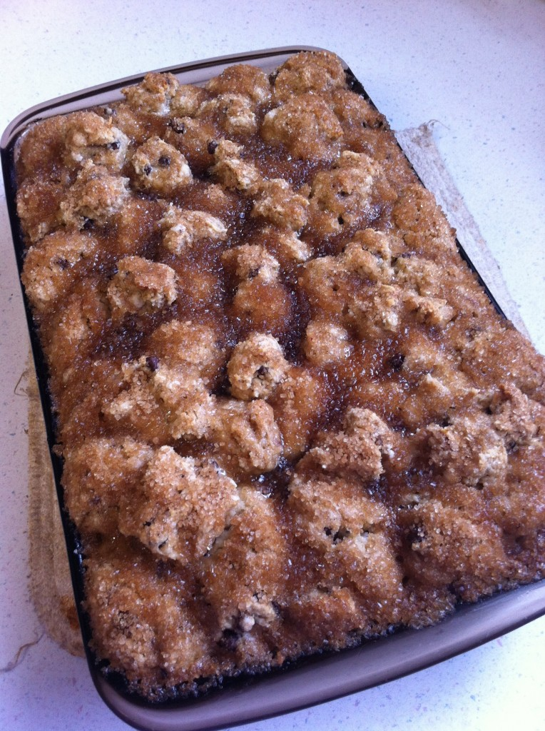 banana chocolate chip monkey bread