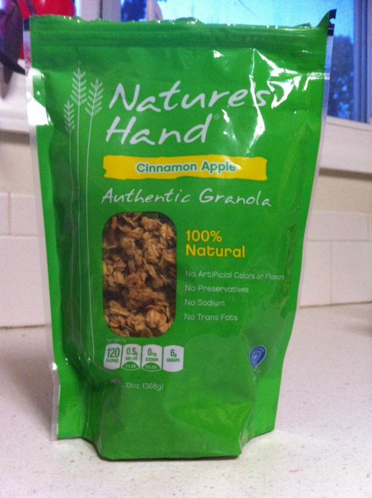 Nature's Hand Granola - Apple Cinnamon