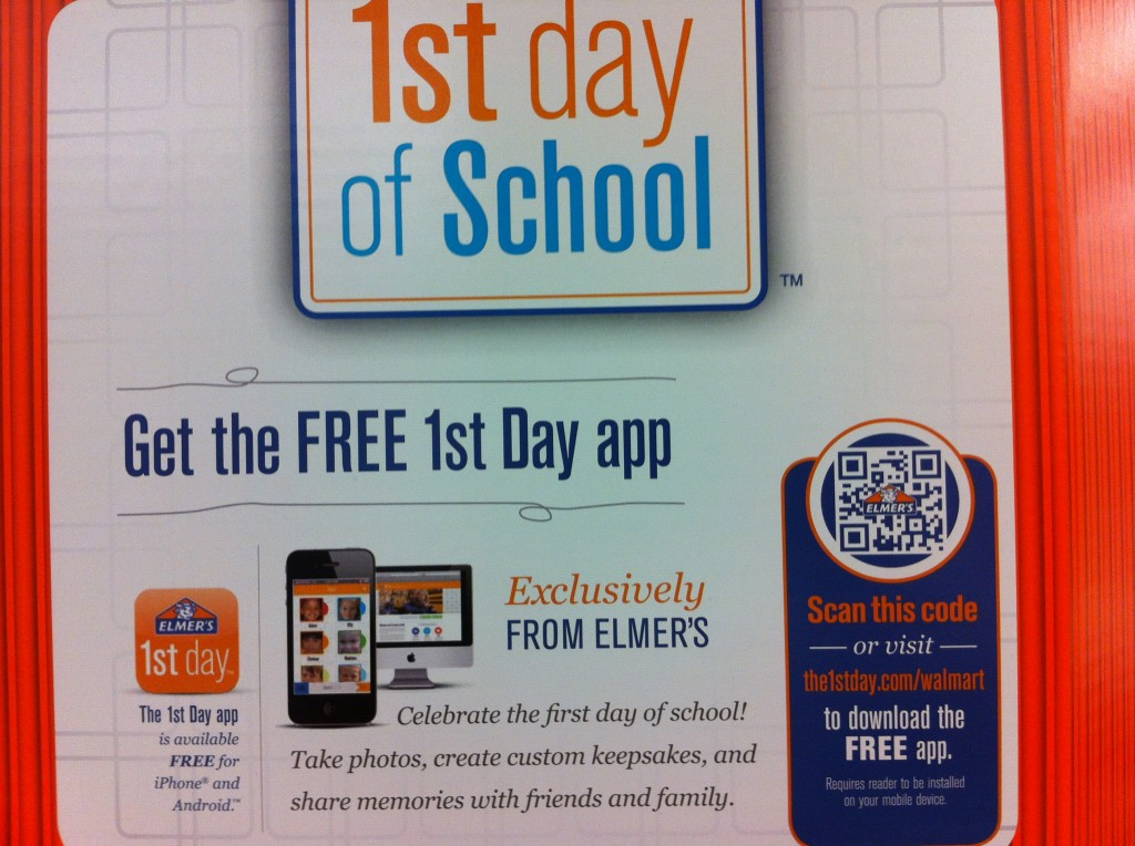 1st Day App Sign