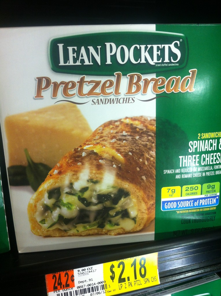 Spinach & Cheese Hot Pocket