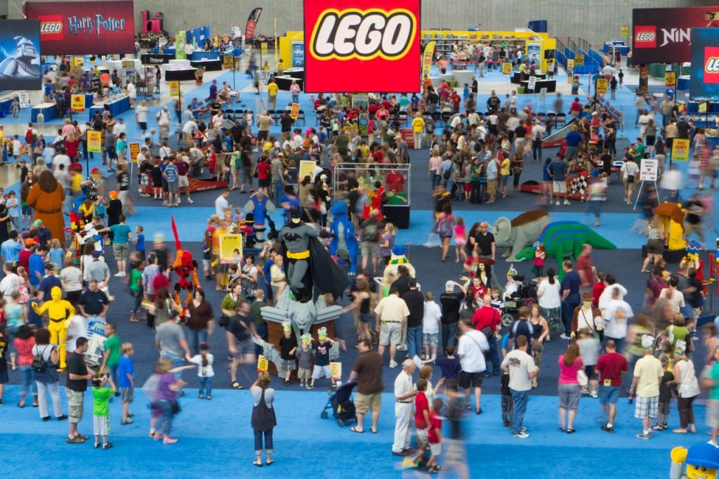 Aerial - Lego KidsFest