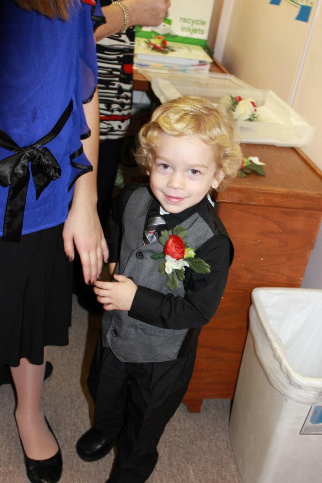 andrew wedding
