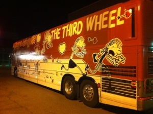 Diary of a wimpy kid bus