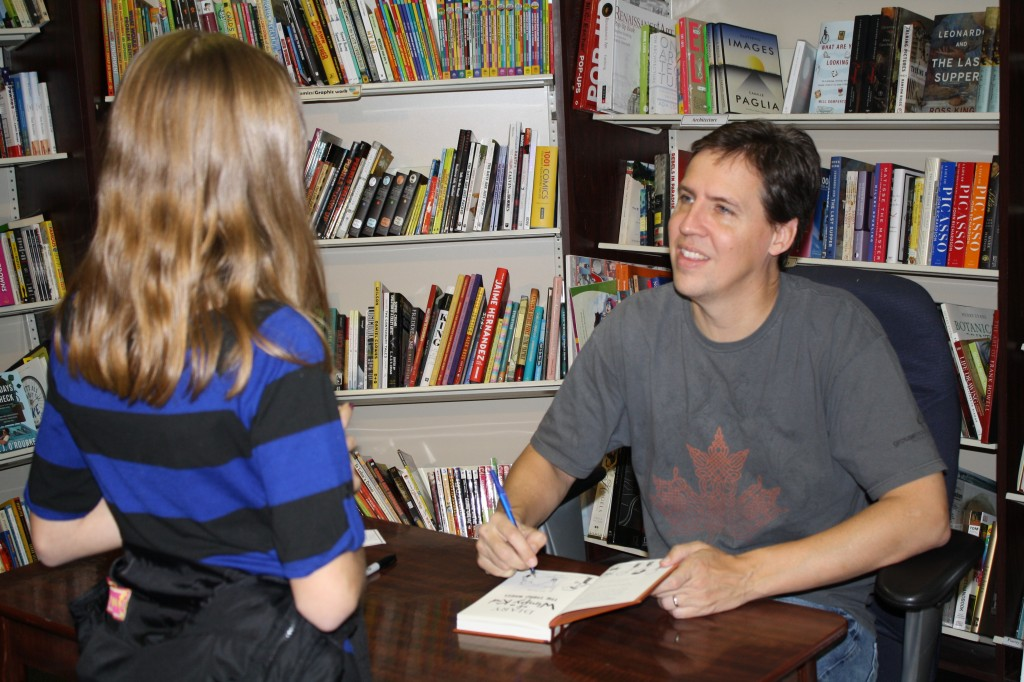 talking with Jeff Kinney