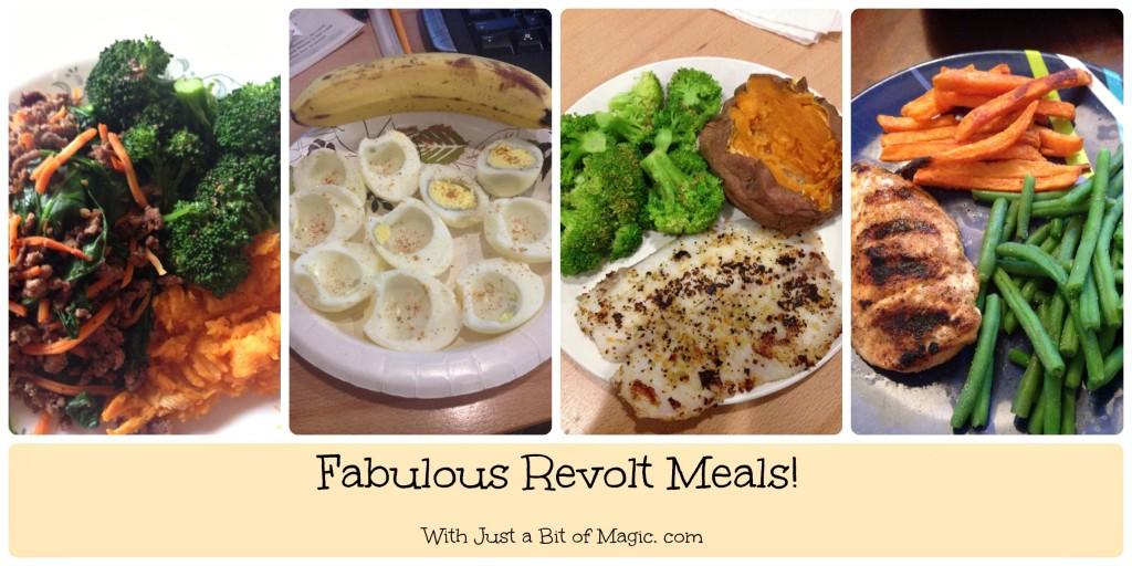 revolt meals