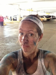 Me after the color run