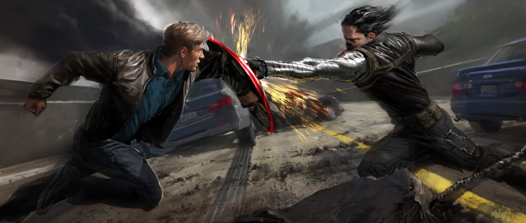 Captain America - concept art