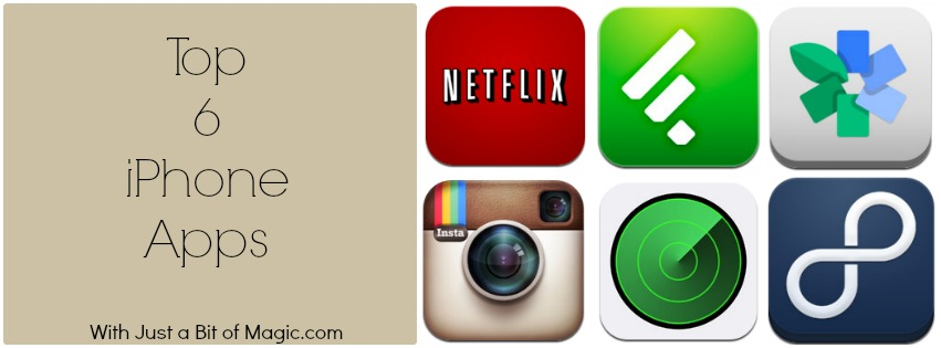 top 6 iphone apps v2