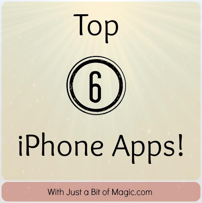 top 6 iphone apps